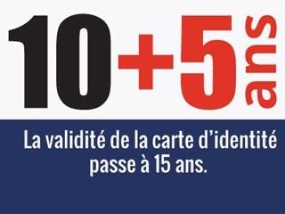 Carte Identite Algerienne Validite.Carte Nationale D Identite Allongement De La Duree De